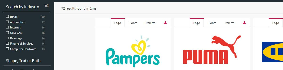 LogoMiner – Catalog of logo designs