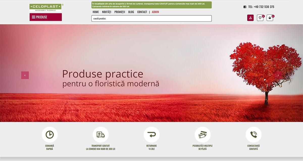 Celoplast - Online shop - Flori artificiale